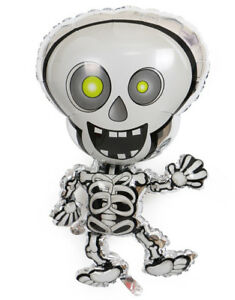 Decorations Halloween Balloon Spooky Skeleton Party Helium Foil