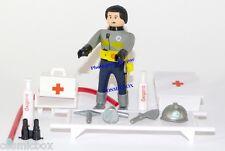 Figurine AIRGAMBOYS brancardier figure Airgam air gam boy playmobil médecin new