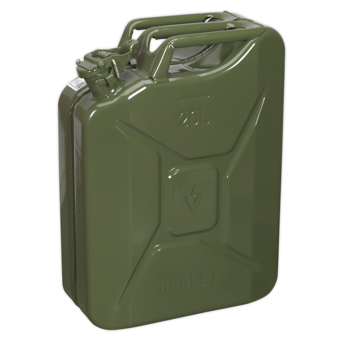 Jerry Can 20ltr - Grün   SEALEY JC20G by Sealey   New