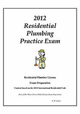 2012 International Residential Plumbing License Practice Exam on USB Flash Drive