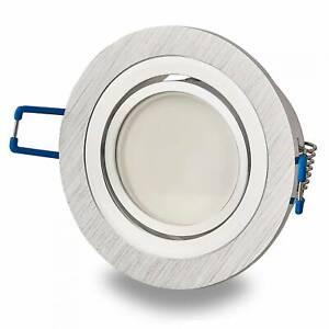 6x LED Einbaustrahler rund 5-7W MR16 Einbauspot Deckenleuchte schwenkbar 75mm