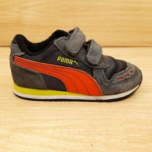 Puma Toddler Boys hook and loop athletic shoes. Size 6 ...