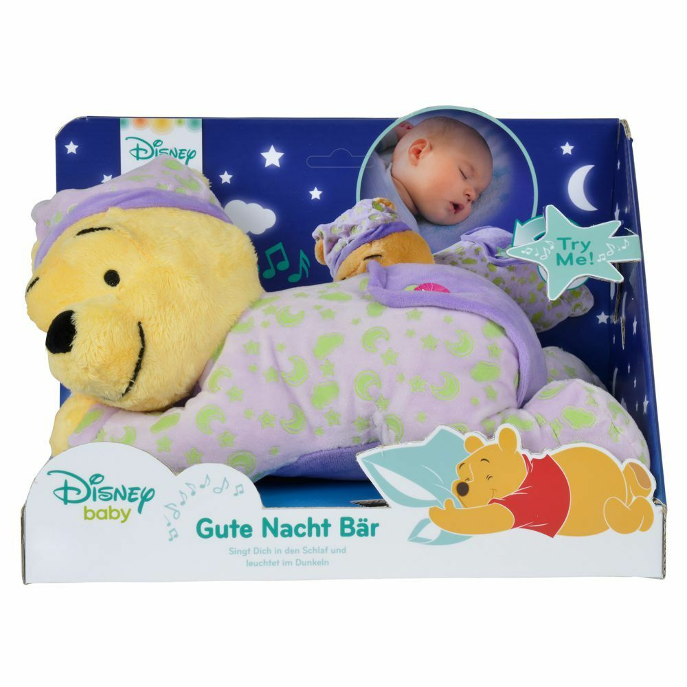 Winnie the Pooh - Plush Figure with Light Light Light Effects - Night Lamp 30cm 5e2091