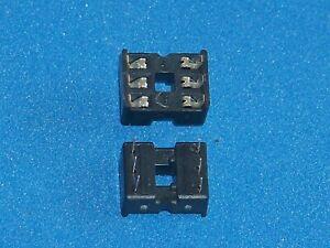 IC-Fassung / IC-Sockel, 6-polig, Doppelfederkontakt, Menge nach Wunsch
