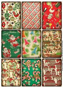 Christmas-Gift-Wrap-Style-Glossy-Finish-Card-Making-Topper-Crafts