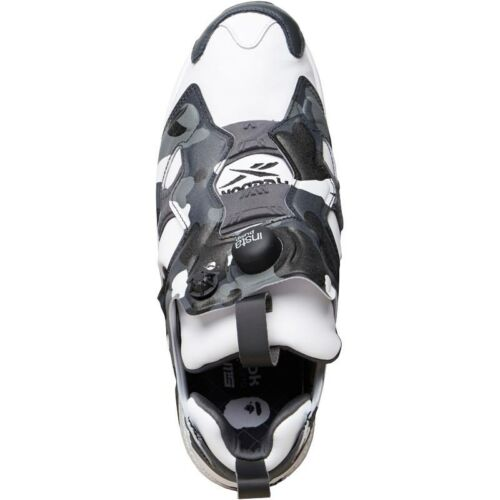 Mens Reebok White Trainers Fury black Instapump Bape grey Mita gwaUz