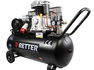 druckluft kompressor kolbenkompressor 100l kessel 10bar 400v ebay. Black Bedroom Furniture Sets. Home Design Ideas