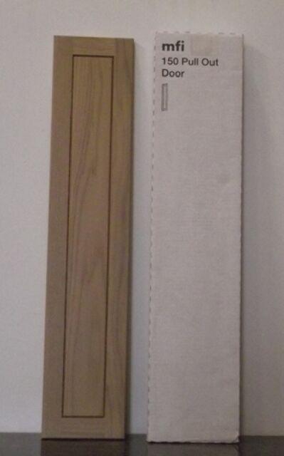mfi Kelmscott Howdens Haworth SOLID OAK FRAMED KITCHEN DOOR 147mm X 716mm (KO10)