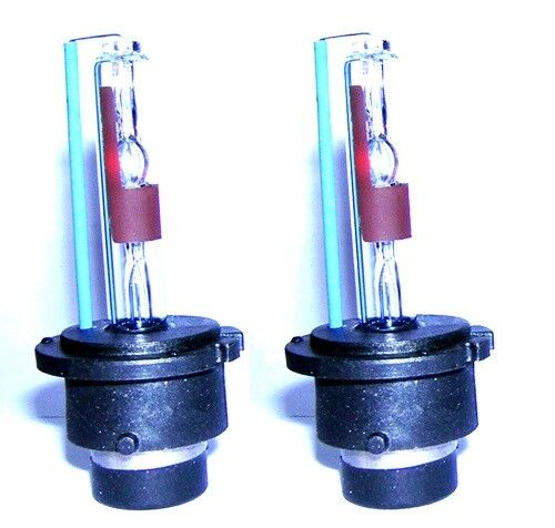 Pair D2R Gas Discharge Xenon HID Headlight Bulbs For Volvo S40 V40 V70 XC70