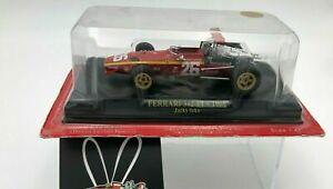 """DIE CAST """" FERRARI 312 F1 - 1968 JACKY ICKX + BOX 1 """"  SCALA 1/43"""