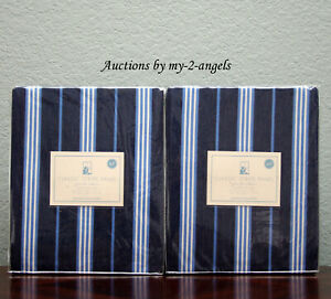 S 2 Pottery Barn Kids Classic Stripe Non Blackout Panels