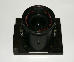 VERY RARE Carl Zeiss Jena Dokumar 5,6/38 38mm F5.6 In a Repro Device