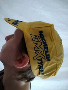 Old School Raleigh Michelin Bmx Hat Andy Ruffell