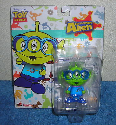 """HOT TOYS COSBABY DISNEY TOY STORY SPACEMAN ALIEN 3"""" ACTION FIGURE TOY"""