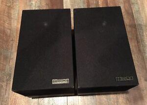 Rare 80's Vintage Mission MK II Model 70 Speakers Set- Stylish British Design