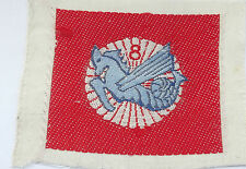 vietnam american war vintage  woven   8th batl  ARVN parachute forces patch