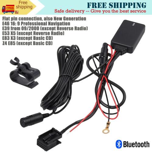 Bluetooth Music Adapter For BMW E46 E39 X5 E53 X3 E83 Z4 E85 MINI Radio Navi Pro