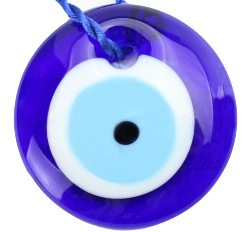 "6 Pack Protection 3/"" Large Turkish Blue Evil Eyes Amulet Wall Hanging Decor"