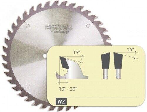 HM Kreissägeblatt - Ø 250 mm x 3,2 mm x 30 mm   Z=80 VW