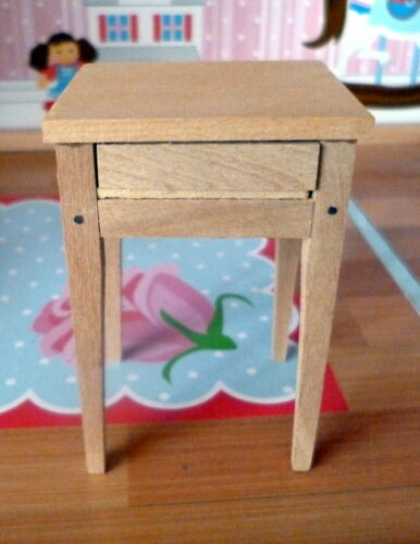 RARE Vintage TYNIETOY Tynie Toy SEWING TABLE Dollhouse Miniature
