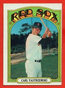 1972-Topps-37-Carl-Yastrzemski-EX-EX-HOF-Boston-Red-Sox-Free-Shipping