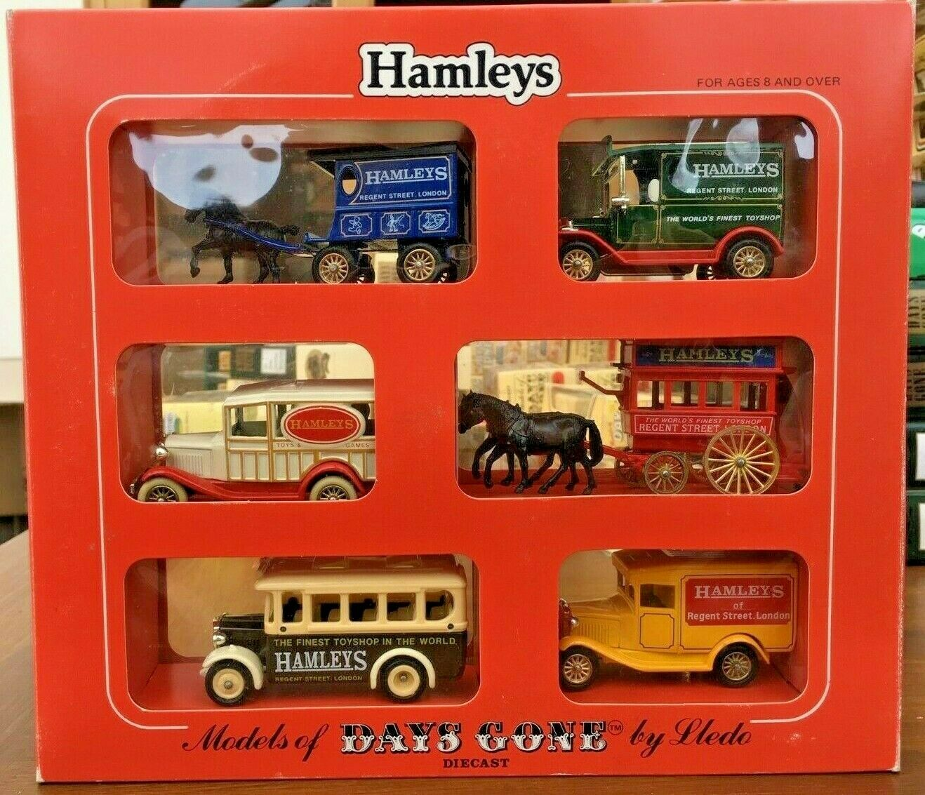 LLEDO DAYS GONE Hamleys Toyshop DG model sets HA1002 HA2002 HAL1004 & HA1006