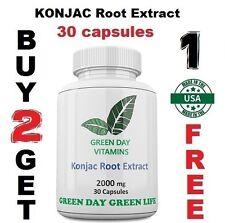 KONJAC Root Extract Glucomannan  Weight Loss Suppress Appetite