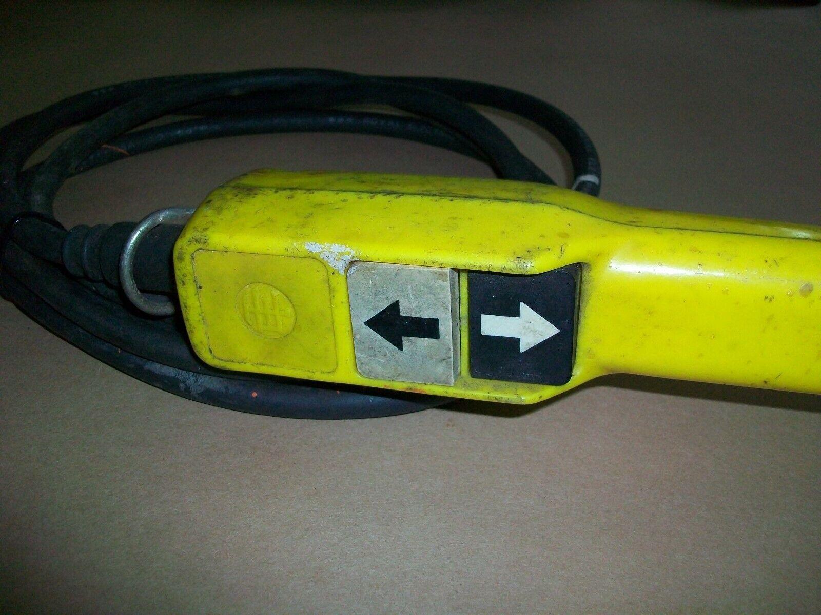 NEW TELEMECANIQUE XAC A201 064500 PENDANT PUSH BUTTON CONTROL STATION