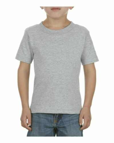 Alstyle Classic Toddler T Shirt Youth Kids Size Short Sleeve Tee Boys Girls 3380