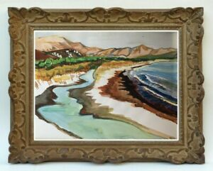 Decouverte-d-039-une-grande-painter-painting-waterfront-in-Corsica-119