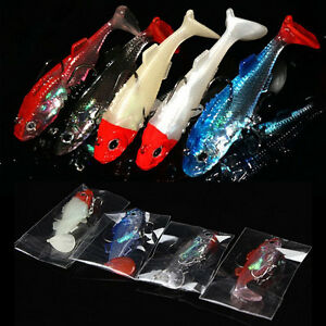 1-X-Lovely-Sequins-Fishing-Crank-Baits-Soft-Lures-Baits-Hook-Swim-Baits-AT