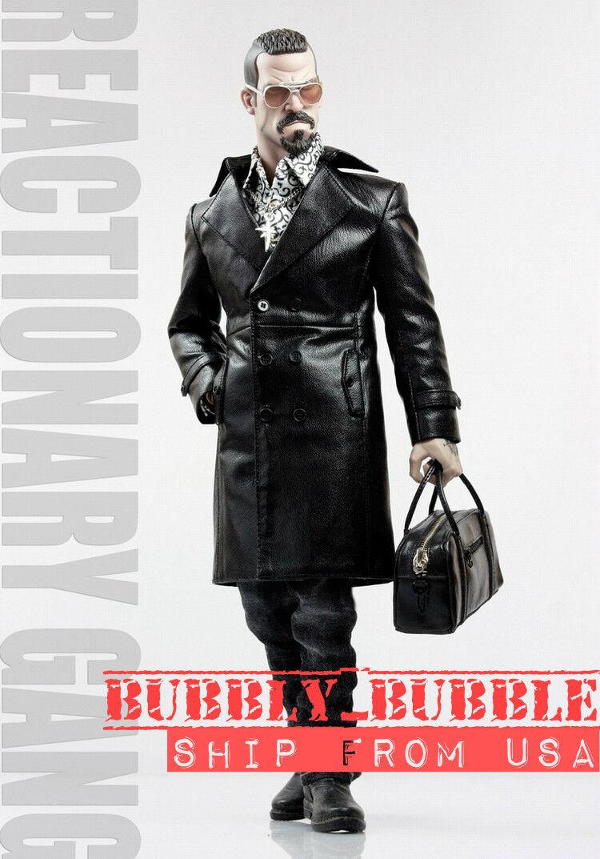 1/6 Gang Style Pelle Fur Coat Jeans scarpe Set Mafia Spade 4 Hot Toys TTM21 USA
