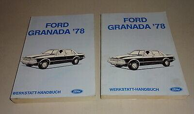 Workshop Manual Repair Manual Ford Granada Ii 1978 1982 Stand 1990 Ebay