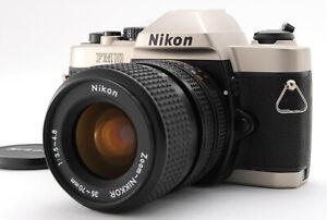 EXC +++++/Nikon fm10 + Zoom-Nikkor 35-70mm f3.5-4.8 Filmkamera aus Japan #0824