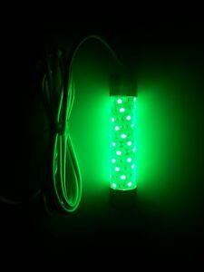 Led 12v green submersible night fishing attractant for Night fishing lights for boats
