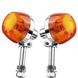 2X for Honda CT70 CT90 XL100 CB350 CM400 CB450 CB750 Turn Signal Light 8Mm E8L1