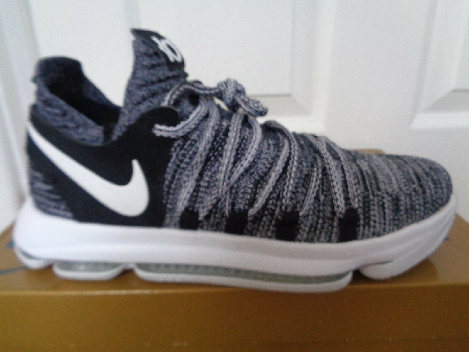 Nike KD 10 sneakers trainers chaussures 897815 001 uk 7.5 eu 42 us 8.5 NEW+BOX