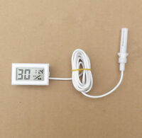 Digital LCD Thermometer Hygrometer Temperature Humidity Meter Probe Sensor new