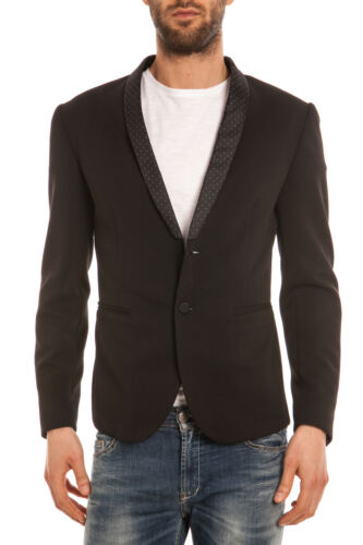 Daniele 1 Nero G2353n6513501 Uomo Slim Alessandrini Giacca Fit Jacket dU48dq