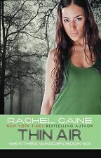 Thin Air (Weather Warden, Book 6), By Rachel Caine,in Used but Acceptable condit