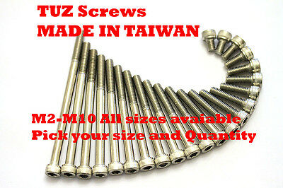 A2 STAINLESS STEEL SOCKET CAP SCREWS, ALLEN KEY BOLTS HEX Screw M4 M5