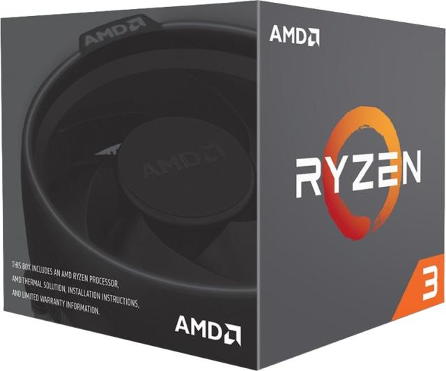 Amd Ryzen 3 1200 3.1GHz Quad Core AM4 CPU