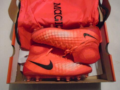 NIB Nike Magista Obra II AG-Pro Men's Soccer Cleats 844594-807 Crimson Bosnia