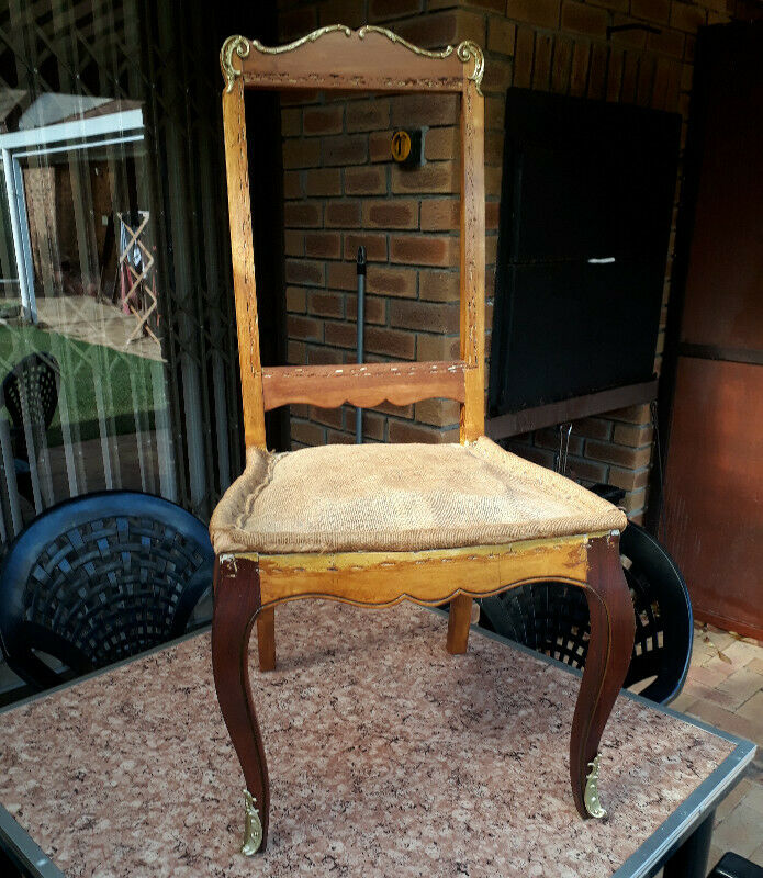 Antique French Chair.