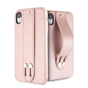 Details about Genuine Guess Saffiano Strap Impact Case Cover for iPhone XS Max in Rose Gold
