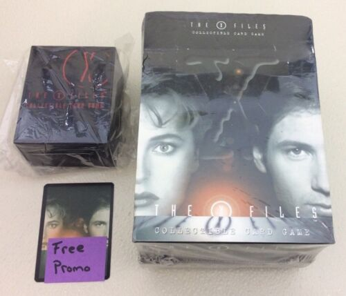 More X-Files CCG Premiere Factory Sealed Starter Deck box 12-60 Card Deck