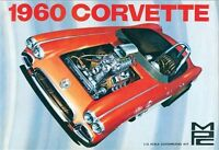 Mpc 1:25 1960 Chevy Corvette Plastic Model Kit Mpc830