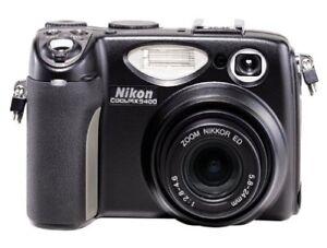 Nikon-Coolpix-5400-5-1-MP-Digital-Camera-w-4x-Optical-Zoom