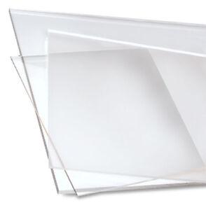 clear craft acrylic plexiglass sheet custom cut to size 1 16 thick ebay. Black Bedroom Furniture Sets. Home Design Ideas