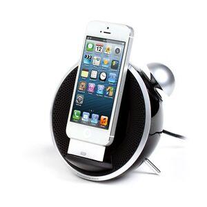DOCKINGSTATION iPHONE 5 iPOD DOCK LAUTSPRECHER WECKER RADIO AUX ...